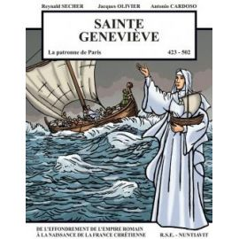 Sainte Geneviève la patronne de Paris 423-502