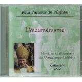 Homélies et allocutions L'œcuménisme