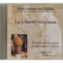 Homélies et allocutions La Liberté religieuse
