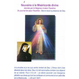 Neuvaine à la Miséricorde divine donnée par le Seigneur à sœur Faustine