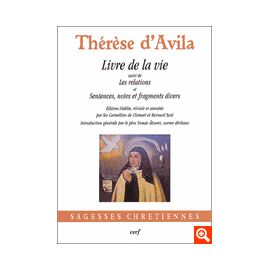 Livre de la Vie suivi de Les Relations et Sentences, Notes et Fragments Divers