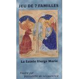 Jeu des 7 familles La sainte Vierge Marie