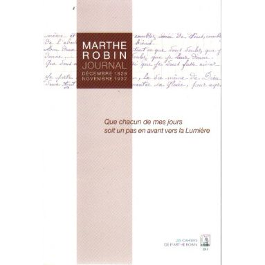 Marthe Robin journal