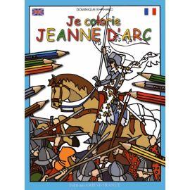 Je colorie Jeanne d'Arc