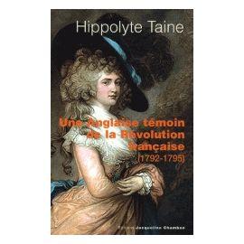 Une Anglaise témoin de la Révolution française