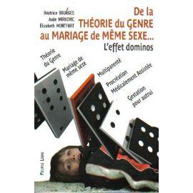 De la théorie du genre au mariage de même sexe...