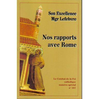 Nos rapports avec Rome