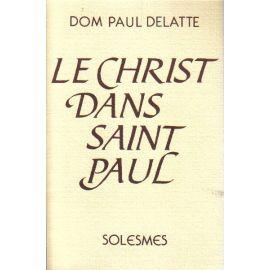 Le Christ dans saint Paul