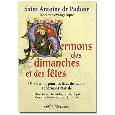 Sermons des Dimanches et des Fêtes - Tome IV