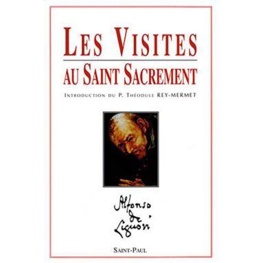 Les visites au Saint Sacrement