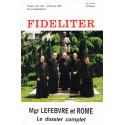 Monseigneur Lefebvre et Rome