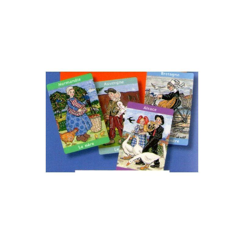 jeu des 7 familles costumes des r gions de france livres en famille. Black Bedroom Furniture Sets. Home Design Ideas