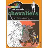 Tout savoir sur les chevaliers en 30 coloriages