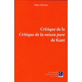 Critique de la critique de la raison pure de Kant