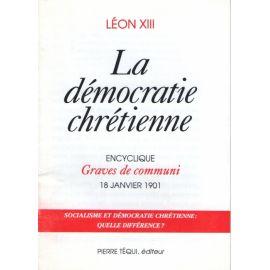 La démocratie chrétienne
