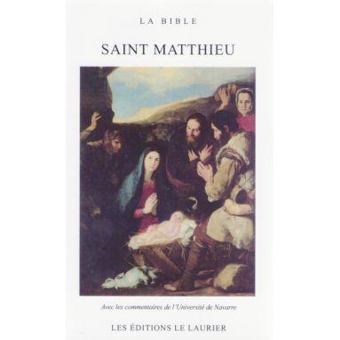 L'Evangile selon saint Matthieu