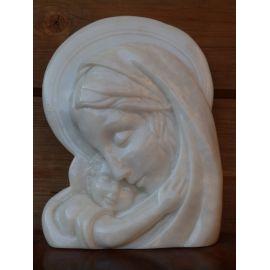 Vierge à l'Enfant étreignant