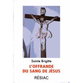 L'offrande du Sang de Jésus