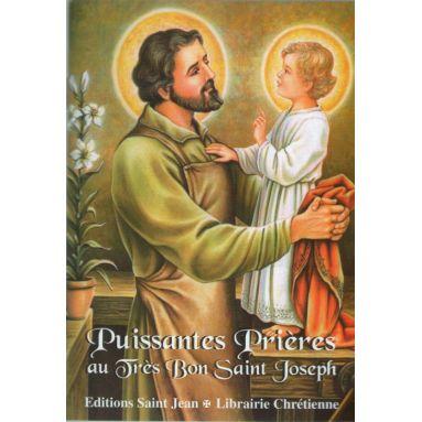 Puissantes prières au très bon saint Joseph