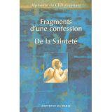 Fragments d'une confession