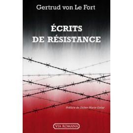 Ecrits de Résistance