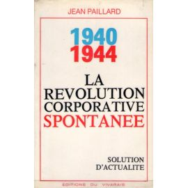 La Révolution corporative spontanée