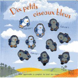 Dix petits oiseaux bleus