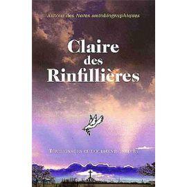 Claire des Rinfilières Tome 3