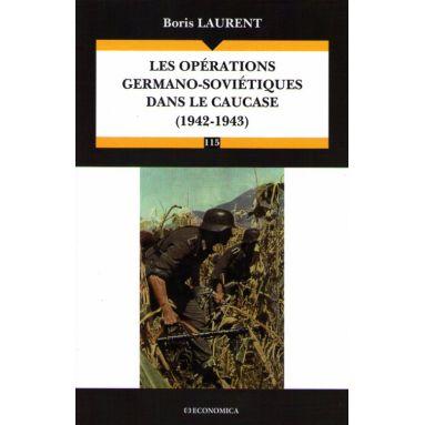Les opérations germano-soviétiques dans le Caucase