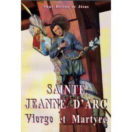 Sainte Jeanne d'Arc vierge et martyre