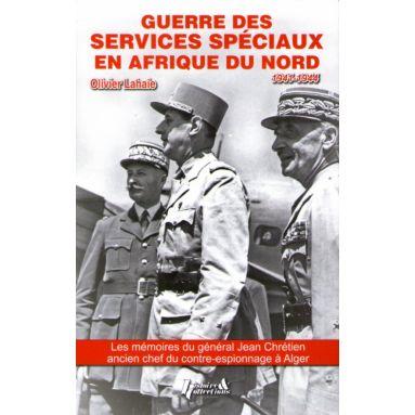 Guerre des Services Spéciaux en Afrique du Nord 1941 - 1944