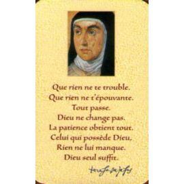 Sainte Thérèse d'Avila - CB1144