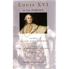 Louis XVI a la parole