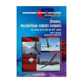 Drones mystérieux robots volants