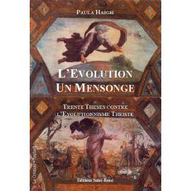L'Evolution un mensonge