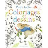 Pierre Lapin Coloriages et dessins