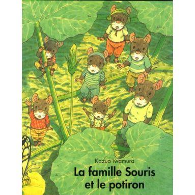 La famille Souris et le potiron