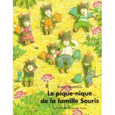 Le pique-nique de la famille Souris