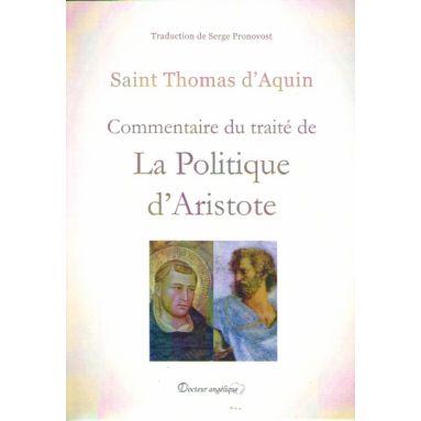 Commentaire du traité de la politique d'Aristote