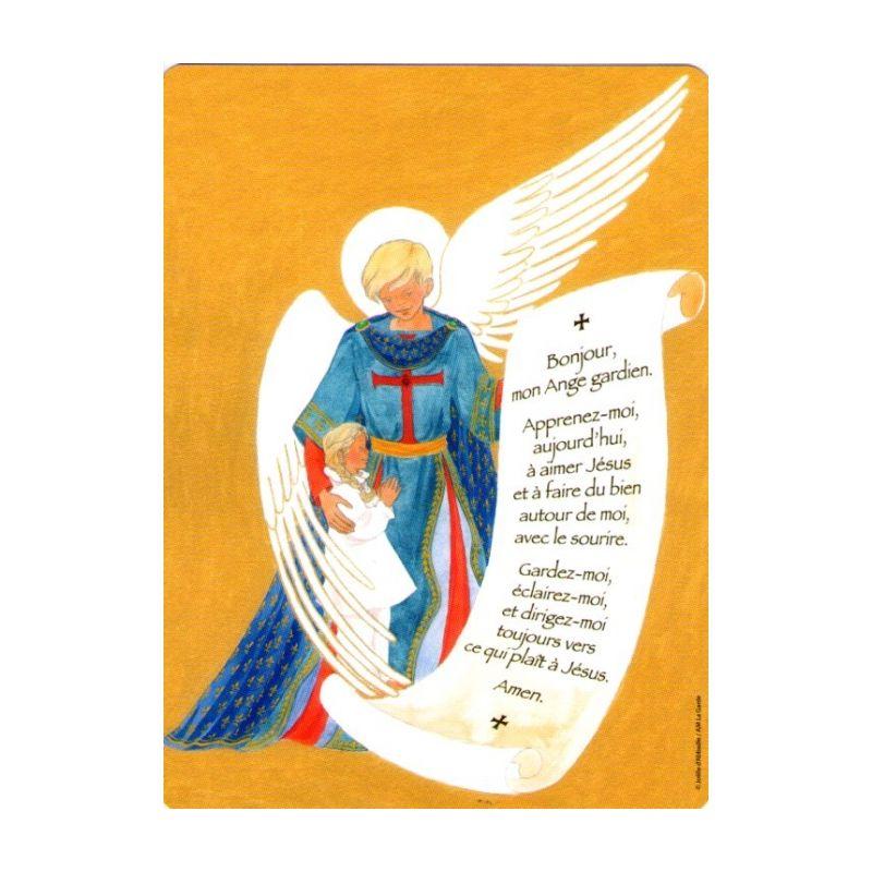 Jo lle d 39 abbadie pri re l 39 ange gardien fille - Dessin d ange gardien ...