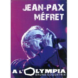Jean Pax Mefret à l'Olympia Bruno Cocatrix