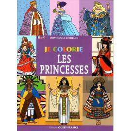Je colorie les princesses