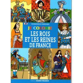 Je colorie les Rois et les Reines de France
