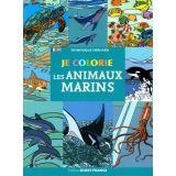 Je colorie les animaux marins