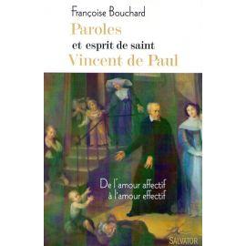 Paroles et esprit de saint Vincent de Paul