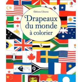 Les drapeaux du monde à colorier