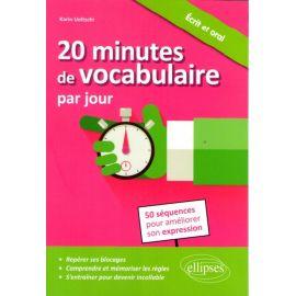 20 minutes de vocabulaire par jour