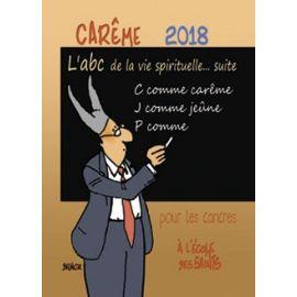 Carême 2018 pour les cancres