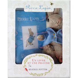 Pierre Lapin, un livre et une peluche