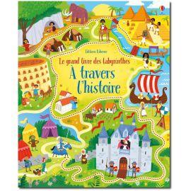 Le grand livre des labyrinthes à travers l'histoire
